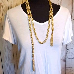 Paparazzi SCARFed for Attention necklace, earrings